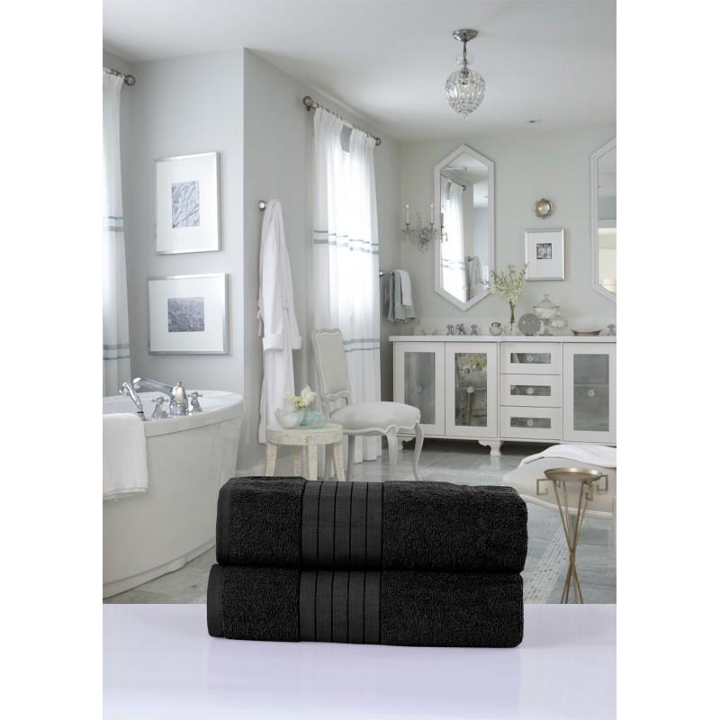 handdoeken  set nr.1000 zwart
