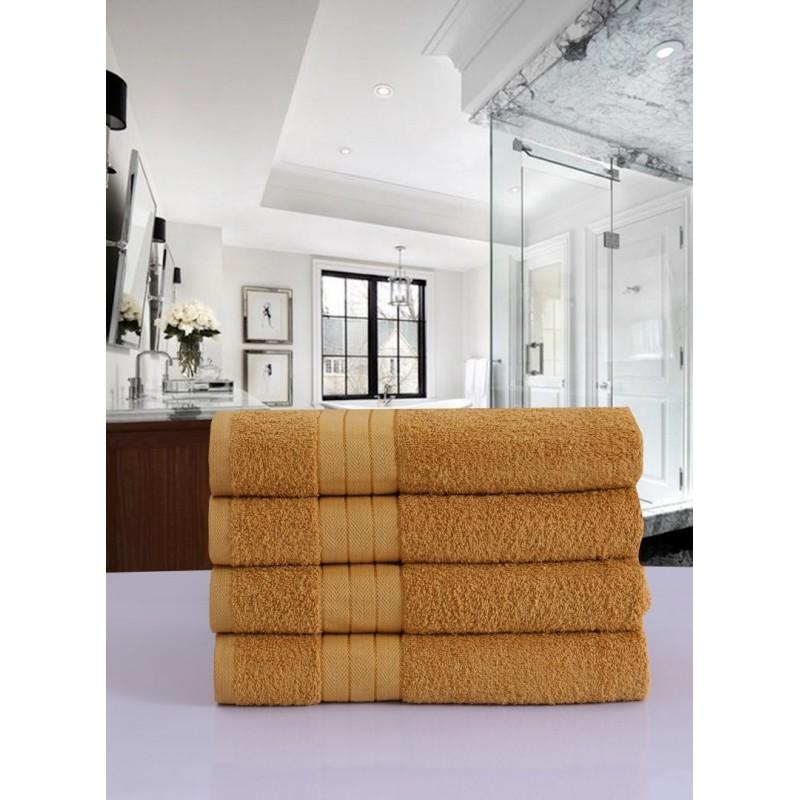 handdoeken  set nr.1000 oker