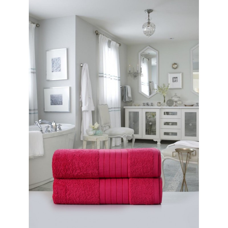 handdoeken  set nr.1000 roze