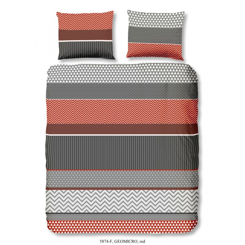 Dbo  flanel all-over nr.5874 rood