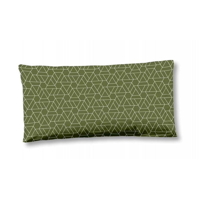 Kussenhoesje  HIP katoen-satijn nr.6113 groen